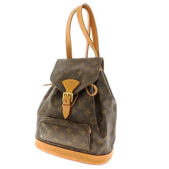 LOUIS VUITTON Montsouris Middle M51137 shoulder bag Monogram Canvas ladies fs3gm