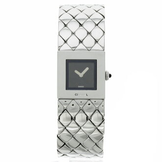 CHANEL matelasse SS watch stainless steel ladies ' fs3gm