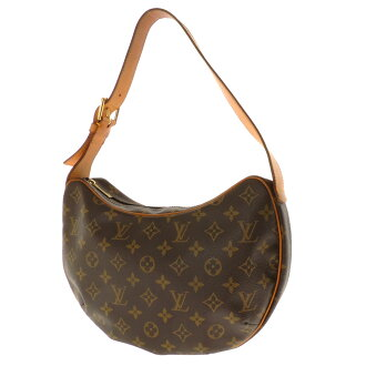 LOUIS VUITTON croissant MM M51512 shoulder bag monogram canvas Lady's