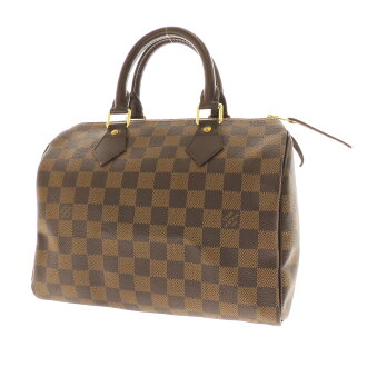 LOUIS VUITTON speedy 25 N 41532 handbag Damier Canvas women's fs3gm