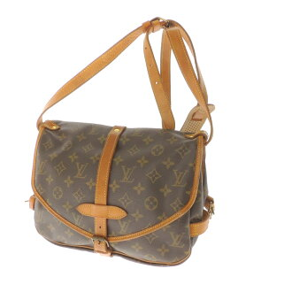 LOUIS VUITTON Saumur M M42254 shoulder bag Monogram Canvas ladies