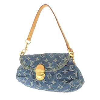 LOUIS VUITTON mini breeder M95050 shoulder bag Monogram Denim Womens