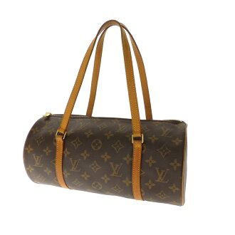 無M LOUIS VUITTON Papillon porch 51385 Monogram Canvas ladies handbag