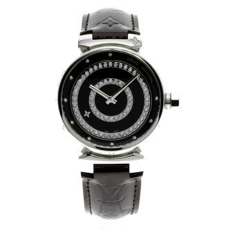 LOUIS VUITTON tambour amateur Lunt Deer mon GM Q111CO watch stainless steel / ヴェルニメンズ fs3gm