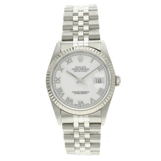 ROLEX Oyster Perpetual Datejust 16234 men's watch K18WG/SS