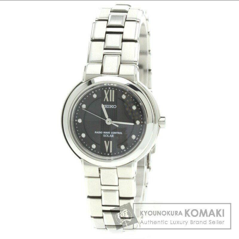SEIKO【セイコー】3B21-0A10 エクセリーヌ ダイヤモンド 腕時計 レディース 【】