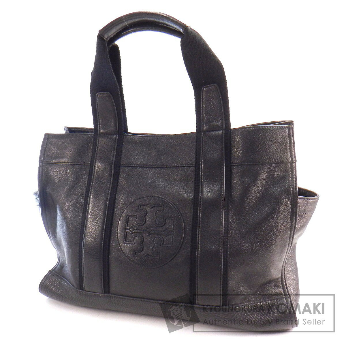 ... Global Market: Authentic Tory Burch Logo design Tote bag Leather