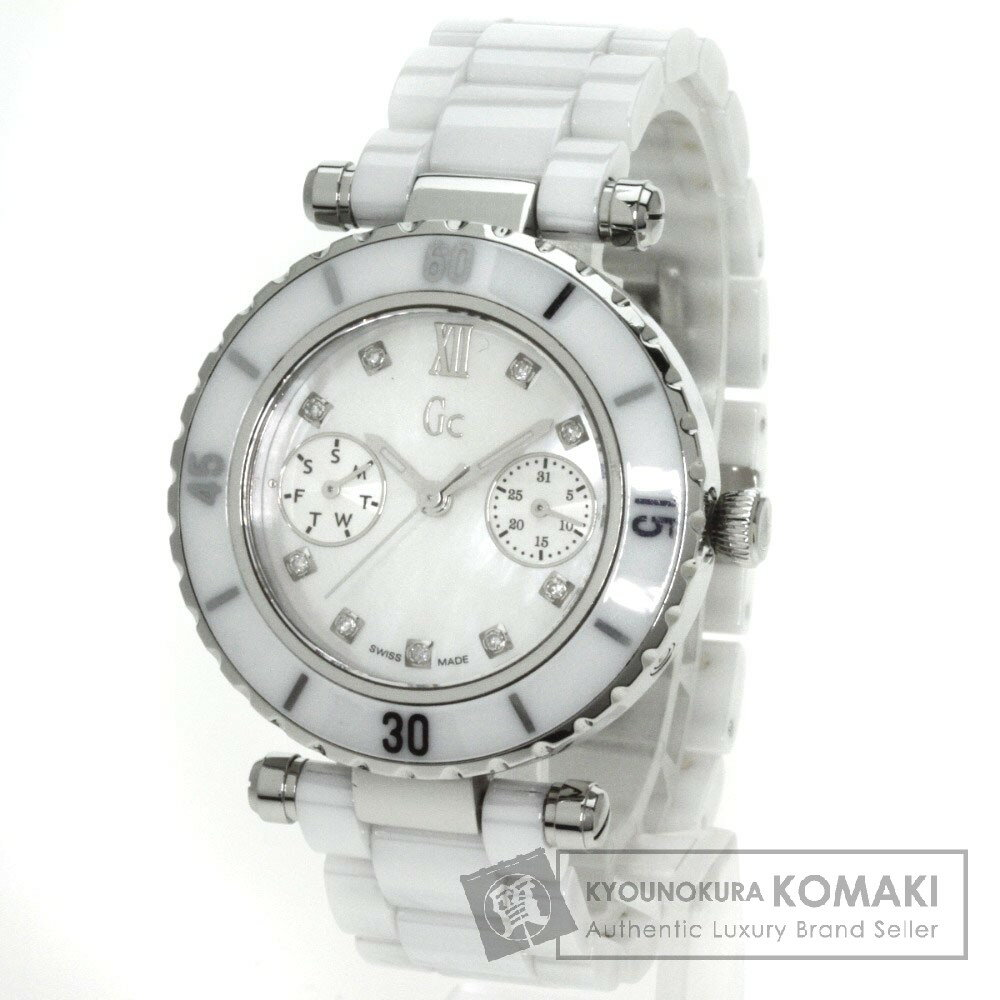 Guess【ゲス】 146003L1/08 腕時計 ステンレス/セラミック レディース 【】 店長イチオシ