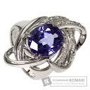 6.466ct タンザナイト/ダイヤモンド リング・指輪 プラチナPT900 17.9g レディース 【中古】