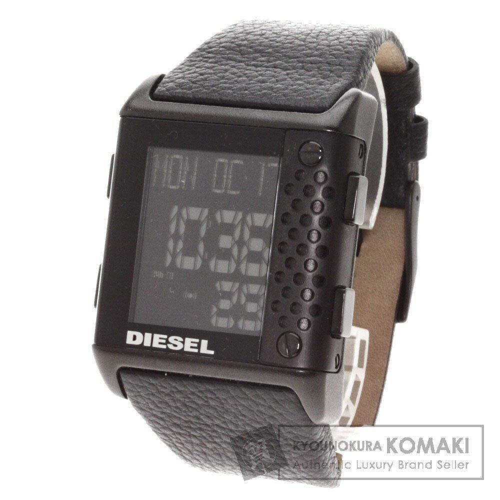DIESEL【ディーゼル】 DZ-7122 腕時計 ステンレス/レザー メンズ 【】