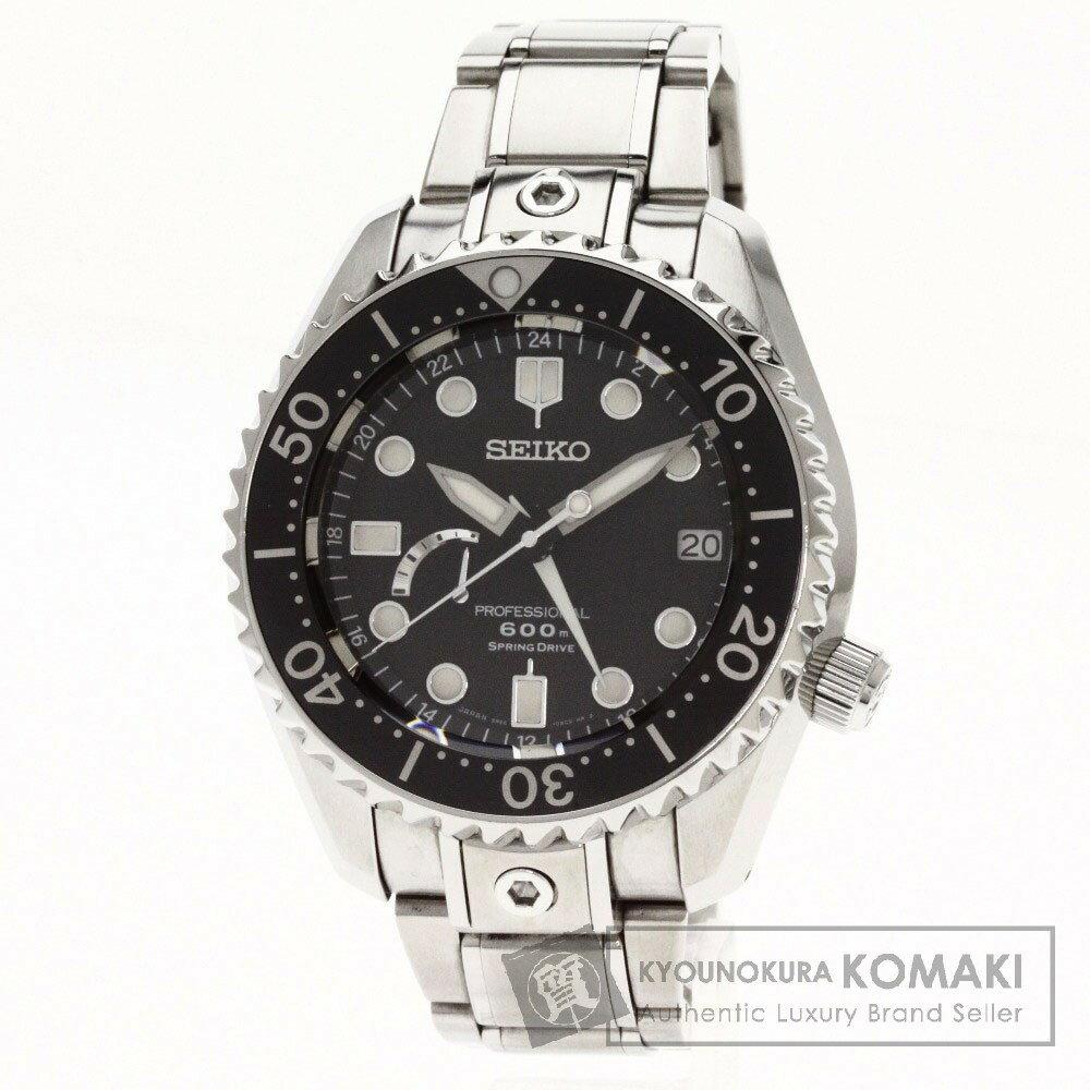 SEIKO【セイコー】5R66-0AD0 プロスペック マリーンマスター 腕時計 チタン/チタンxSS メンズ 【】