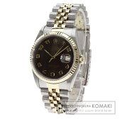 ROLEX【ロレックス】16233 デイトジャスト アラビア数字 腕時計 ステンレス/SSxK18YG メンズ 【中古】
