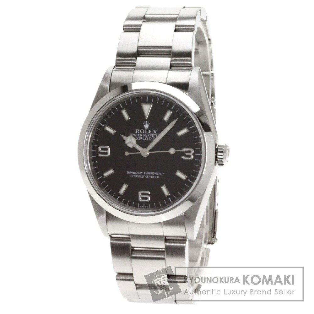 ROLEX【ロレックス】Ref.14270 オイスタパーペチュアル エクスプローラー 腕時計 ステンレス/SS メンズ 【】 店長イチオシ