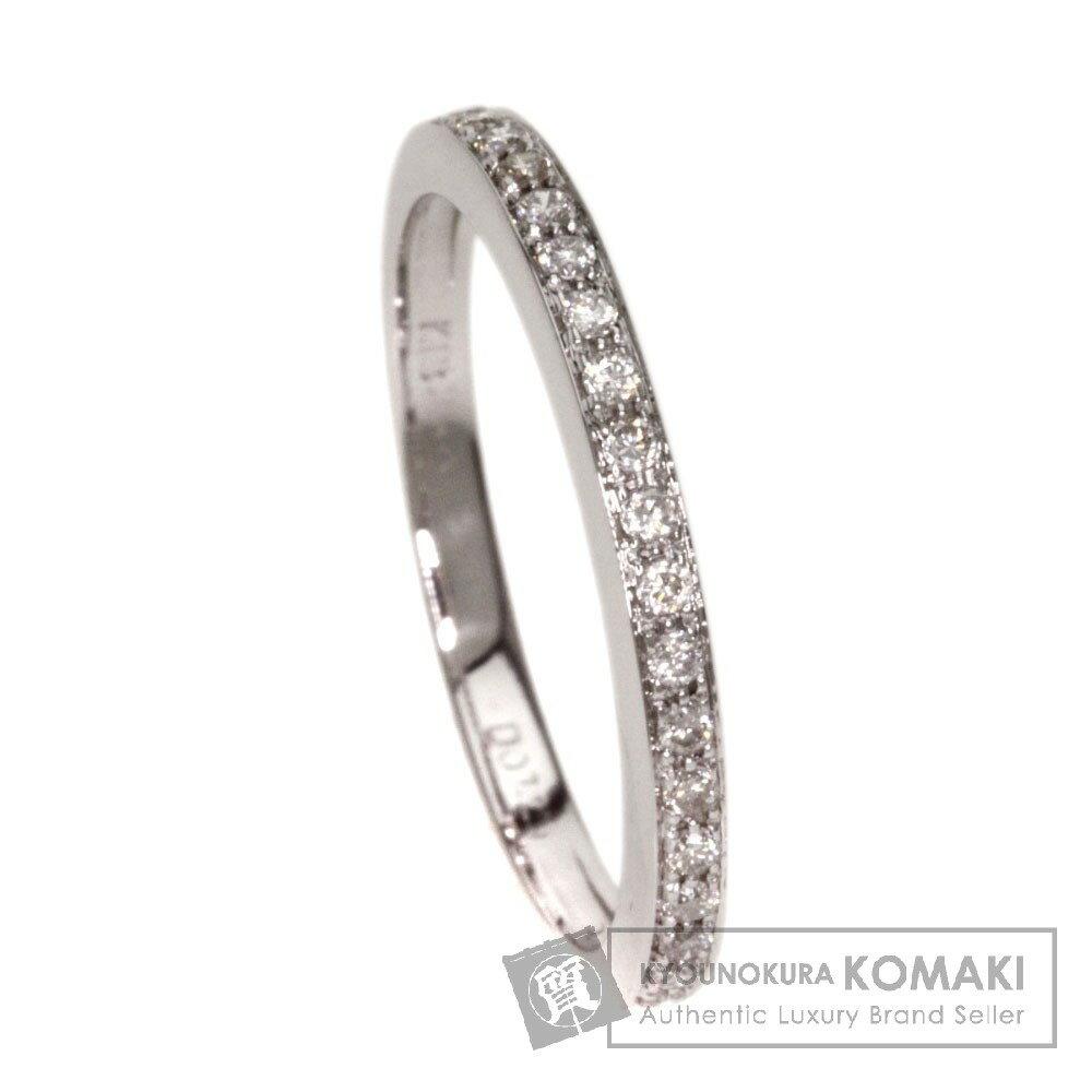 0.11ct ダイヤモンド リング・指輪 K18ホワイトゴールド 1.7g レディース 【】