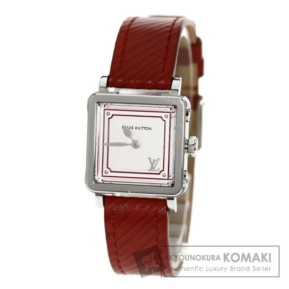 LOUIS VUITTONQ32MOA アンプリーズPM 腕時計 ステンレス/レザー レディース 【】【ルイ・ヴィトン】