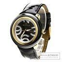 Folli Follie WFOR060SP 腕時計 ステンレス/革/セラミック メンズ 【中古】【フォリフォリ】