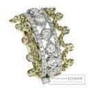 1ct ダイヤモンド リング・指輪 K18イエローゴールド 8.3g レディース 【中古】