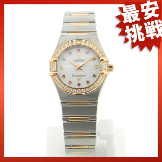 1367-79 OMEGA コンステレーションアイリ watch PG/SS Lady's