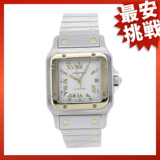 CARTIER サントスガルベ LM watch SS men