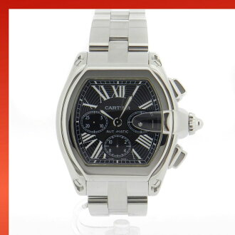 CARTIER Roadster Chrono W62020x6 watch SS men