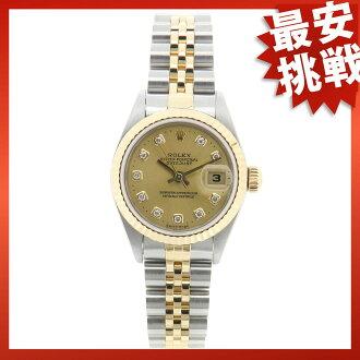 ROLEX79173G オイスターパーペチュアルデイトジャスト watch K18YG/SS Lady's