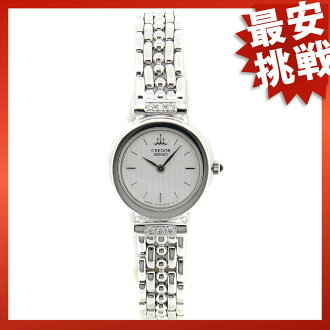 SEIKO クレドール 1E70-2190 watch K18WG Lady's