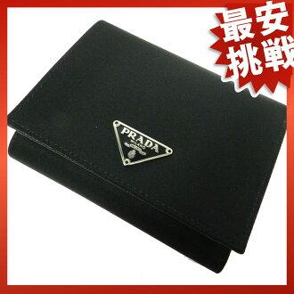 PRADA trifold wallet M176