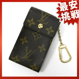 LOUIS VUITTON badge port CRE M60048 key case Monogram Canvas unisex