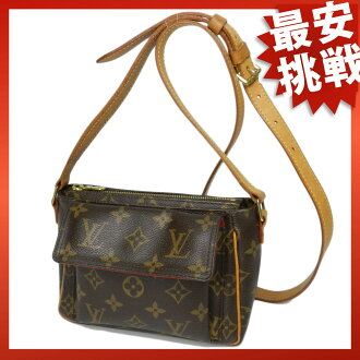LOUIS VUITTON ヴィバ protagonist PM M51165 shoulder bag monogram canvas Lady's