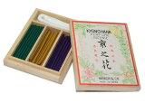 日常に気軽に使いたいバラ・ゆり・すみれの香り 京之花 (香水線香3種54本入)