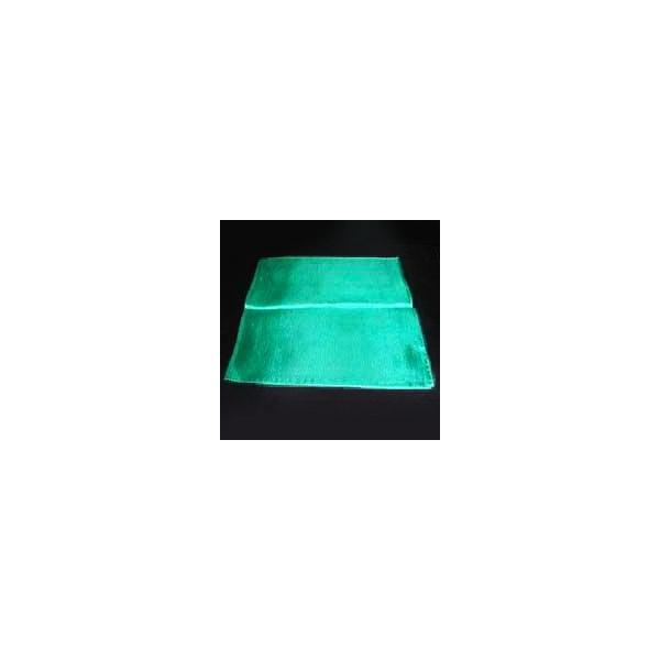 マジック 手品用品 22センチ角マジック用シルク(緑)