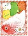 お七夜祝いに、おめでたい祝鯛と縁起物のセット!七夜祝<HI-200>お七夜用 出産内祝祝い砂糖 鯛型砂糖製品 成型砂糖ギフト