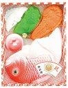 お祝い事に、おめでたい祝鯛と縁起物のセット!鯛セット<TS-200>祝い砂糖 鯛型砂糖製品 成型砂糖