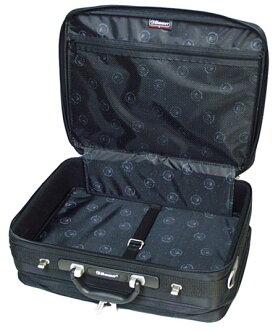 비즈니스 가방 EMINENT エミネント ソフトナイロンアタッシュケース 43cm 흑인 남성 신사 숄더백 집 무관 fs3gm