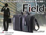 ビジネスバッグ/バックパック メンズ 紳士 3WAY横型ビジカジ HIDEO WAKAMATSU ヒデオワカマツ フィールド ショルダーバッグ リュックサック  おすすめ 人気 【送料無料】