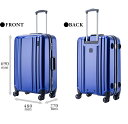 スーツケース キャリーケース 中型〜大型 Mサイズ ...