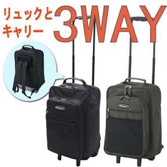 3-WAY small cabin items may be available with carry case carrying bag EMINENT eminent carry, backpack and hand-held S size for 10P13oct13_b fs3gm