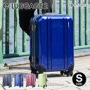 スーツケース 当店限定 EMINENT エミネント eLUGGAGE2 TSAロック PC100%鏡面4輪 小型 Sサイズ キャリーケース キャリーバッグ トランク 旅行バッグ Eラゲッジ おすすめアウトレット