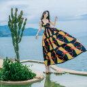 ワンピース マキシワンピース ロング キャミワンピ リゾートワンピ シフォンワンピ 夏ワンピ レディース Ladies 女性 女性用 リゾート夏  海 ビーチ 結婚式 二次会 パーティードレス ロングドレス