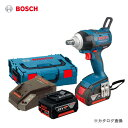 【エントリーでポイント5倍】【お買い得】ボッシュ BOSCH GDS18V-EC250 18V 5.0Ah バッテリーインパクトレンチ