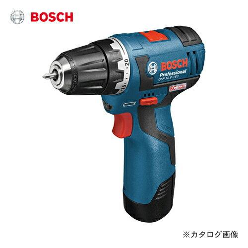 【スマホエントリーでポイント10倍】【お買い得】ボッシュ BOSCH GSR10.8V-EC 10.8V 2.0Ah バッテリードライバードリル