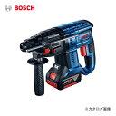 ボッシュ BOSCH 18V コードレスハンマードリル GBH 18V-20 5.0Ahバッテリー2個、充電器、キャリングケース付き