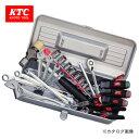 KTC 工具セット(片開きメタルケースタイプ) 24点 SK3249S 【05P03Dec16】