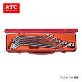 KTC 京都機械工具 45°ロングめがねレンチセット (6本組) M256