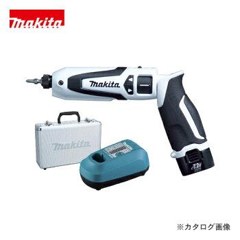 マキタ7.2V1.0Ah充電式ペンインパクトドライバ白TD021DSW