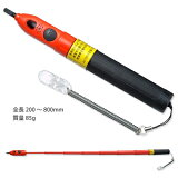 検電器類長谷川電機工業 交流用高低圧検電器 伸縮式音響発光式 HSG-6