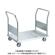 【直送品】TRUSCO オールステン両袖台車 1200X750 φ100NU AS-1W-100NU