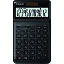 ショッピングCASIO カシオ スタイリッシュ電卓(ジャストタイプ12桁) JF-S200-BK-N