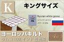 オーダーメイド羽毛布団 【キングサイズ】 【ヨーロッパキルト...