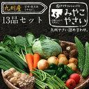 【送料無料】九州野菜セット (たまご付)九州野菜13品ベスト...
